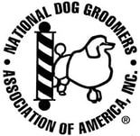 logo national dog groomers association denver nc lake norman